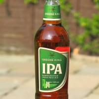 A Bottle of Green King IPA Premium Ale